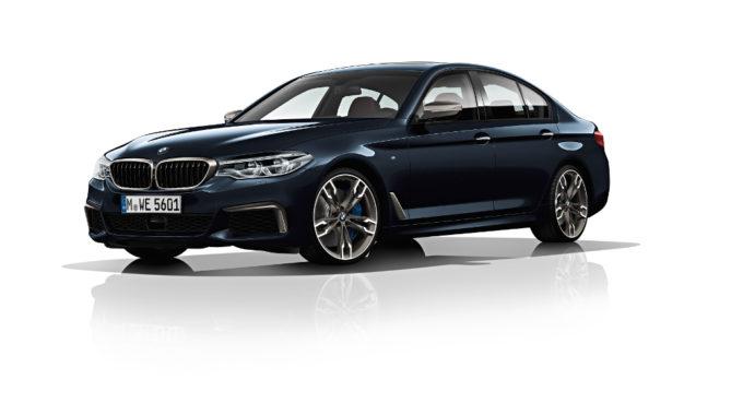 BMW M550d xDrive. Foto: spothits/BMW
