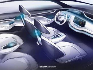 Skoda gibt Details über Vision E bekannt. Foto: spothits/Skoda