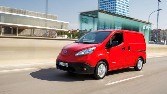 Nissan e-NV200 mit Anhängerkupplung lieferbar. Foto: spothits/Nissan