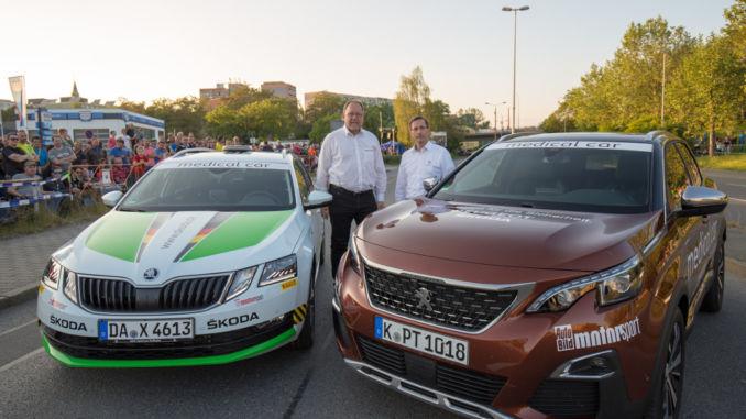 Skoda und Peugeot verbessert Sicherheit im Rallye-Sport. Foto: spothits/Kevin Garre