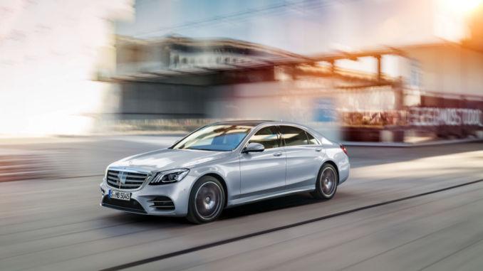 Mercedes-Benz S-Klasse: Modellgepflegte Luxuslimousine startet im Juli. Foto: spothits/Mercedes-Benz