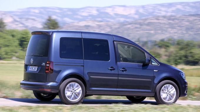 VW Caddy Edition TGI: Große Reichweite und neues Sondermodell. Foto: spothits/VW