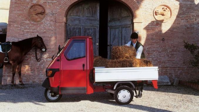 Piaggio Ape 50: Dreirad für Einsteiger. Foto: spothits/Piaggio