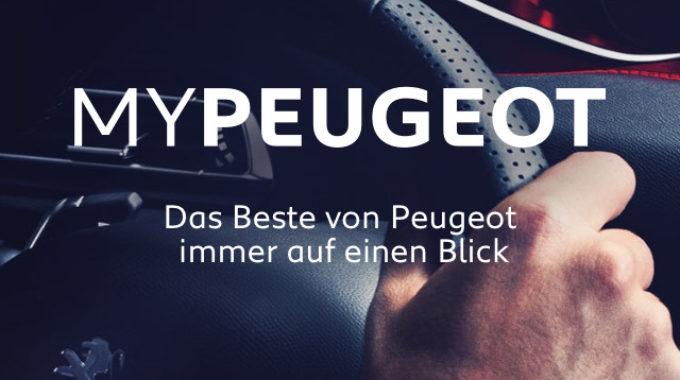 MyPeugeot App mit neuen Funktionen. Grafik: spothits/Peugeot