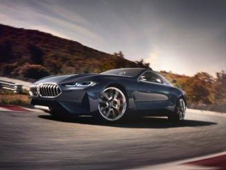 BMW: Neues 8er-Coupe und vernetztes Bike. Foto: spothits/BMW