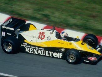 Renault feiert 40 Jahre Formel 1-Teilnahme. Foto: spothits/Renault