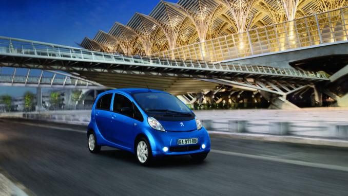 Peugeot iOn. Foto: spothits/Citroen