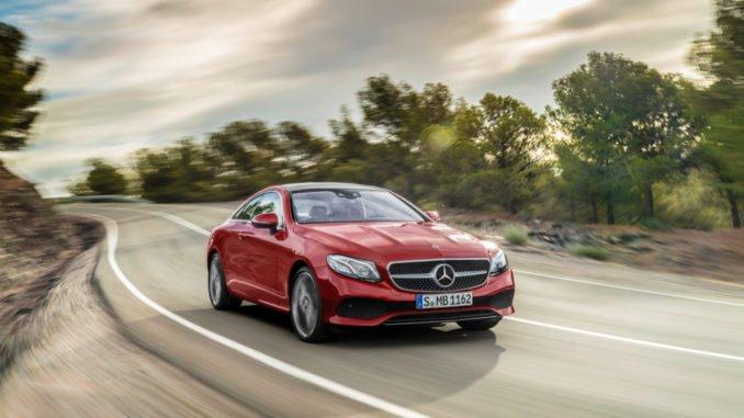 Zulassungen Mai 2017: Mercedes Zulassungen um mehr als 25 Prozent gestiegen. Foto: spothits/Daimler