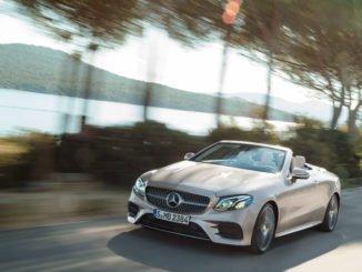 Mercedes-Benz E-Klasse Cabriolet, AMG Line. Foto: spothits/Daimler