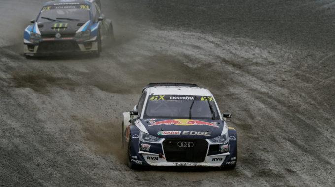 Mattias Ekström (S). Foto: spothits/Audi
