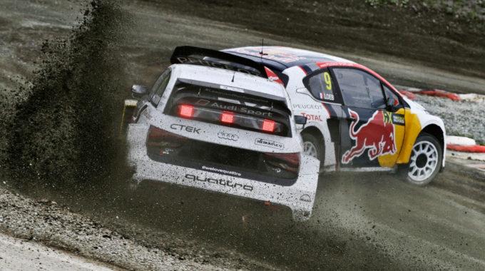 Mattias Ekström (Audi S1 EKS RX quattro #1). Foto: spothits/Audi