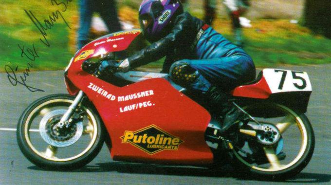 Günter Maussner. Foto: spothits/Historische Motorräder