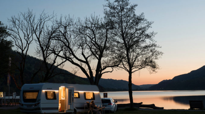 Dethleffs Exclusiv 2018: Luxus-Caravan aufgewertet. Foto: spothits/Dethleffs