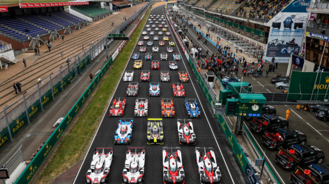 Official picture of all the cars competing in the 24 Heures du Mans. Foto: spothits/Porsche