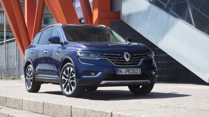 Renault Koleos: Erstmals mit stufenloser CVT-Automatik. Foto: spothits/Renault