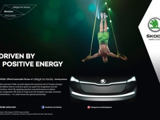 Skoda und Cirque du Soleil gehen Partnerschaft ein. Grafik: spothits/Skoda