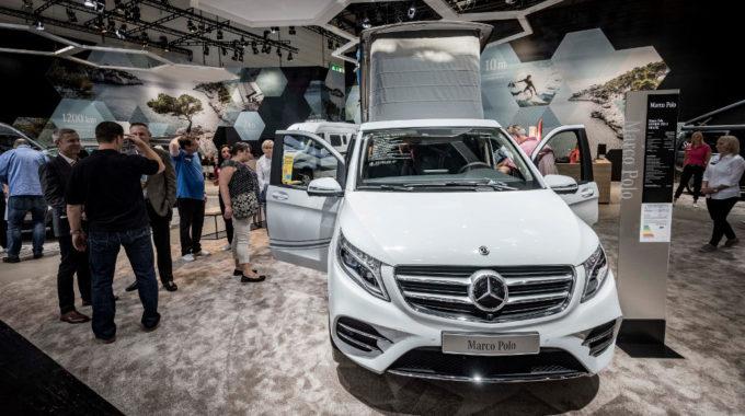 Caravan Salon Düsseldorf: Daimler zeigt Marco Polo Horizon. Foto: spothits/Daimler