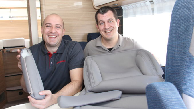 DOTZ-Team Marc Rademacher und Christian Schweizer. Foto: spothits/Dethleffs