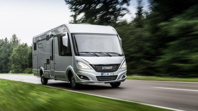 Caravan Salon Düsseldorf: Hymermobil B-Klasse SupremeLine. Foto: spothits/Hymer