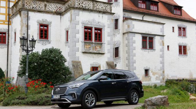 Hyundai Santa Fe. Foto: spothits/Hyundai