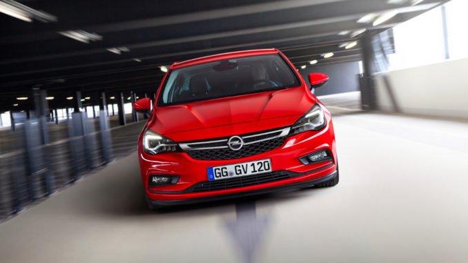 IAA 2017: Weltpremiere - Opel Astra mit Erdgasantrieb. Foto: spothits/Opel