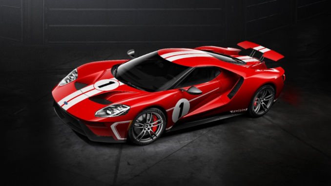 Ford GT '67 Heritage: Limitierter Supersportler. Foto: spothits/Ford