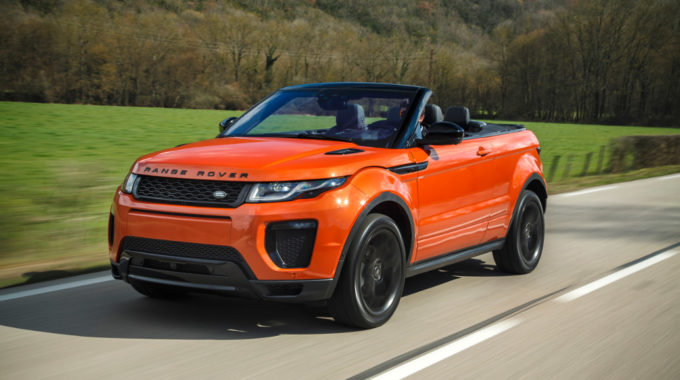 Range Rover Evoque Cabrio. Foto: spothits/Land Rover