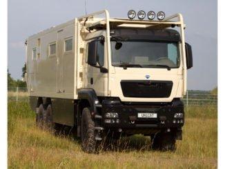UNICAT MD77h MAN TGS 6x6: Expeditionsmobil mit 540 PS. Foto: spothits/Unikat