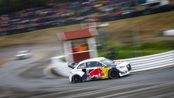 Mattias Ekström, Audi S1 EKS RX quattro. Foto: spothits/Colin McMaster/EKS/McKlein