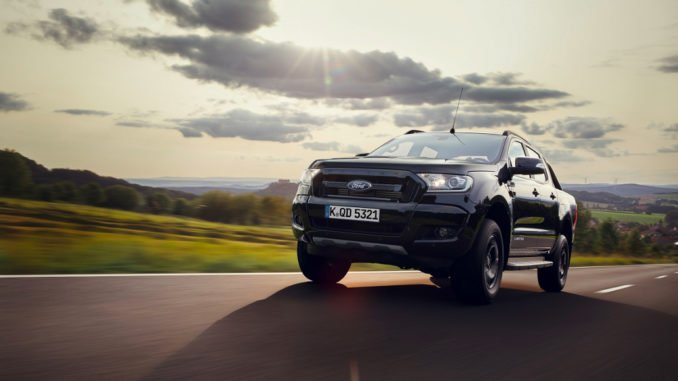 IAA 2017: Premiere Ford Ranger Black Edition. Foto: spothits/Ford