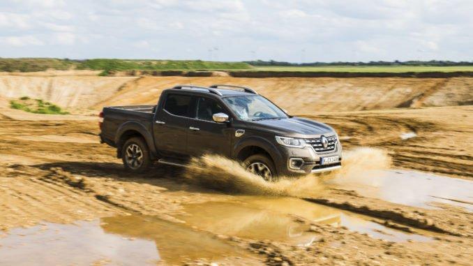 Renault Alaskan: Neuer Pick-up mit Doppelkabine. Foto: spothits/Renault