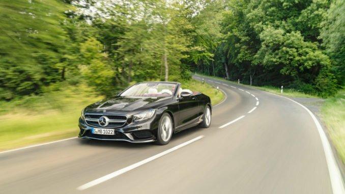 Mercedes-Benz S-Klasse Cabriolet. Foto: spothits/Daimler