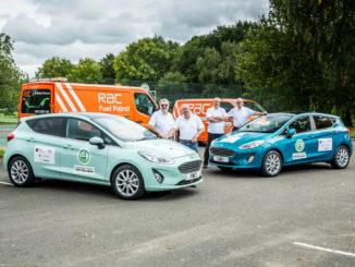 Ford Fiesta und Ford Ranger stellen Spritspar-Rekorde auf. Foto: spothits/Ford