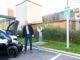 Jochen Hein, Geschäftsführer Hymer GmbH & Co. KG, präsentierte die neue E-Schnellladestation auf dem Werksgelände in Bad Waldsee. Foto: spothits/Hymer