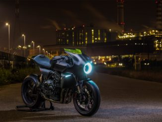 EICMA 2017: Honda CB4 Interceptor-Studie. Foto: spothits/Honda