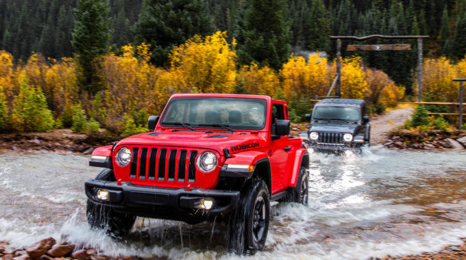 Jeep Wrangler Rubicon. Foto: spothits/Jeep