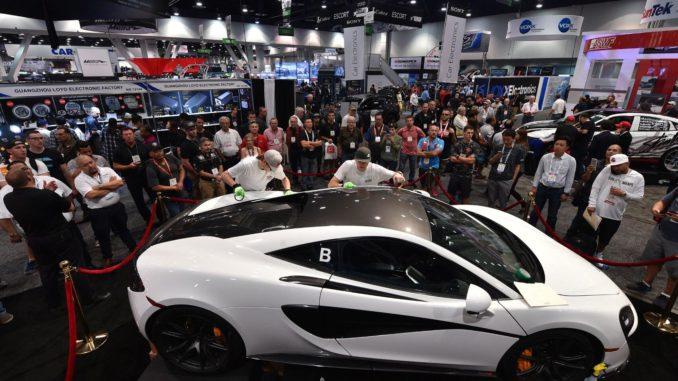 Tuning-Show in Las Vegas. Foto: spothits/Auto-Medienportal.Net/SEMA