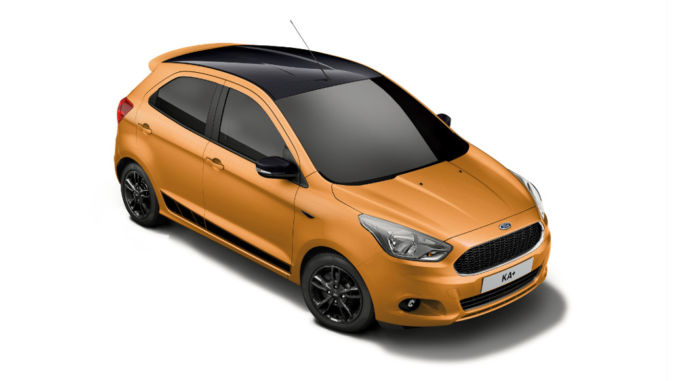 Ford KA+ Black Edition. Foto: spothits/Ford
