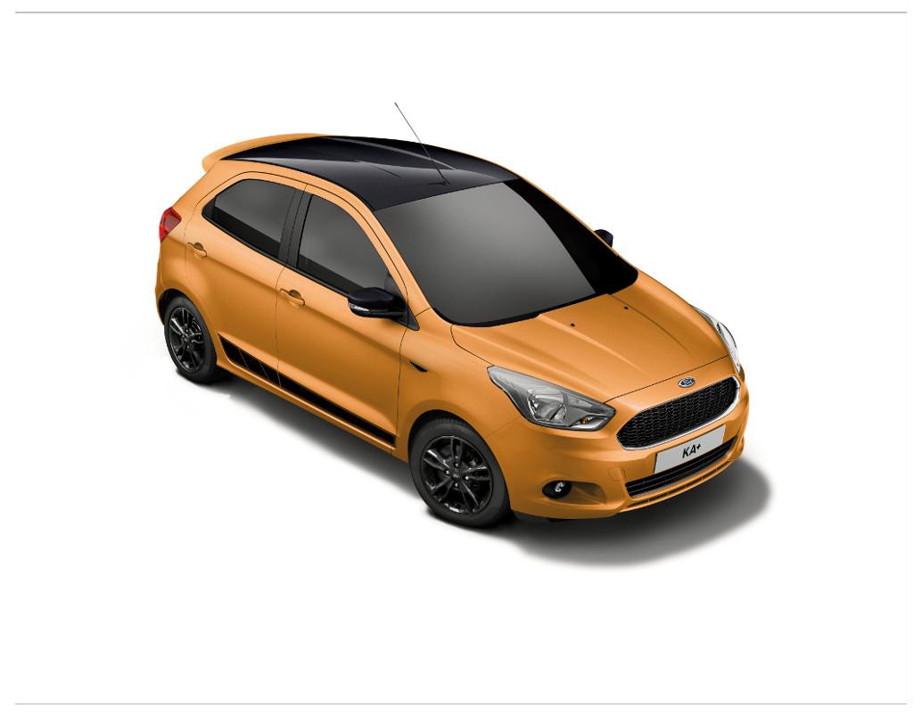 Ford KA+ als Sondermodell Black Edition | spothits