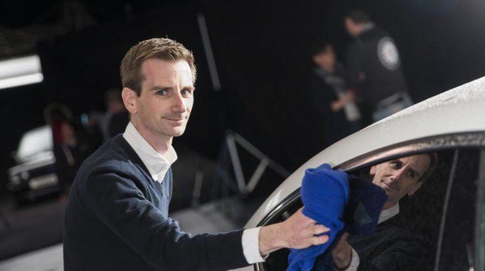 """PS-Bolide aus Ingolstadt saust durch Rheinland-Pfalz: 300 PS bringt der Audi A7 von Thomas (34) mit. """"Kleinere optische Modifikationen habe ich an meinem Traumwagen selbst durchgeführt"""", sagt der IT-Profi aus Bingen am Rhein. Foto: spothits/Nigrin"""