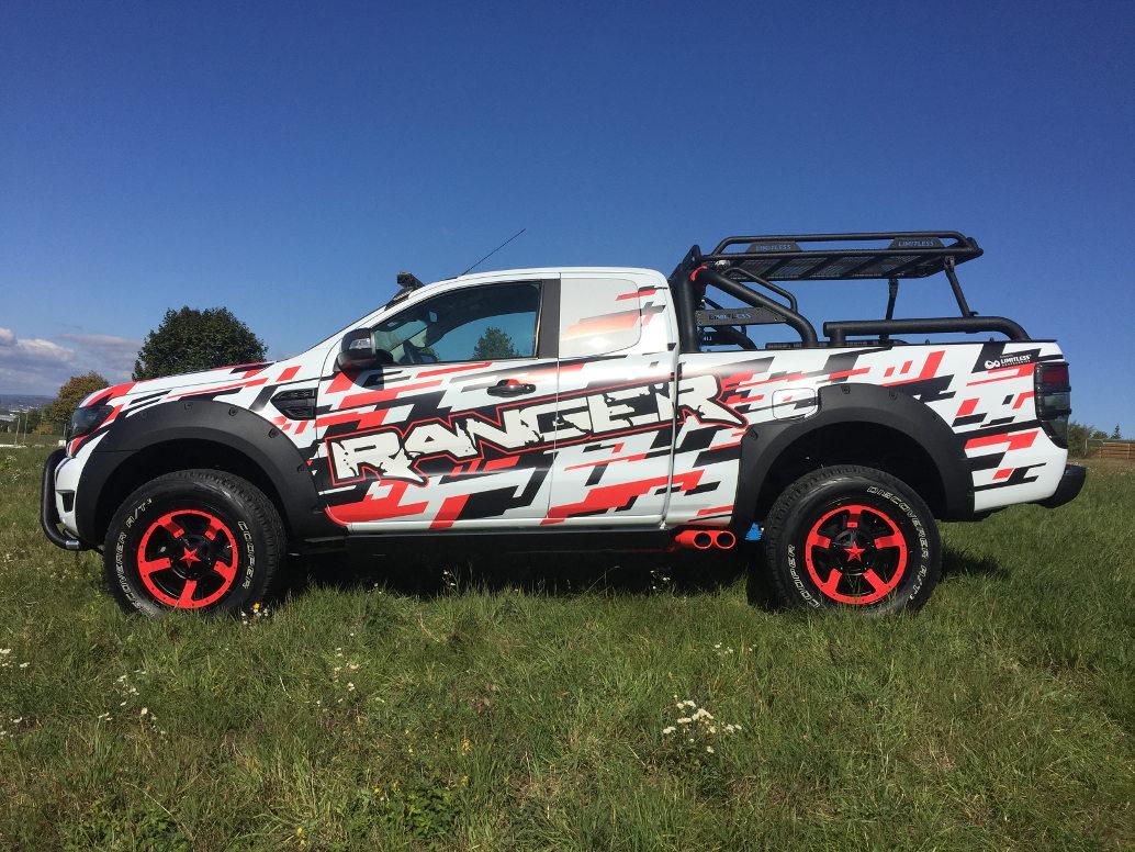 Essen Motor Show: Ford Ranger Limitless Explorer und Mustang GT4 ...