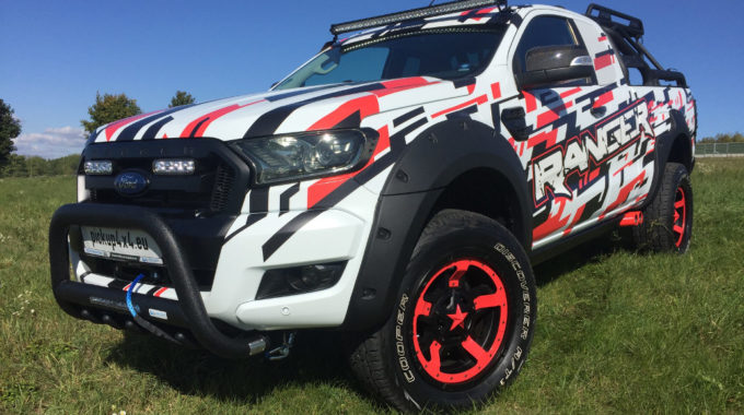 Ford Ranger Limitless Explorer. Foto: spothits/Ford