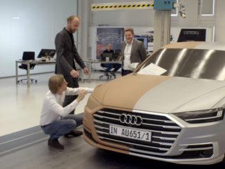 Der neue Audi A8 - Flaggschiff und Technologieträger. Foto: spothits/Mhoch4TV