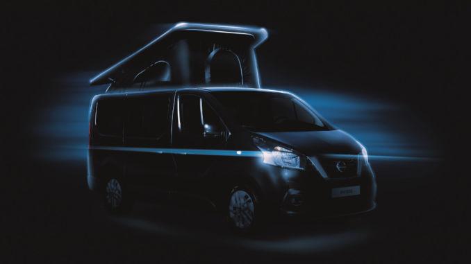 CMT 2018: Nissan NV300 als Camper. Foto: spothits/Nissan