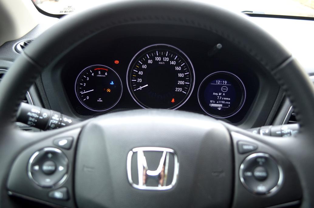 Test Honda HR-V Elegance 1.6 i-DTEC. Foto: spothits