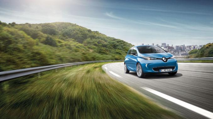 Renault Zoe wertstabilstes Elektroauto. Foto: spothits/Renault