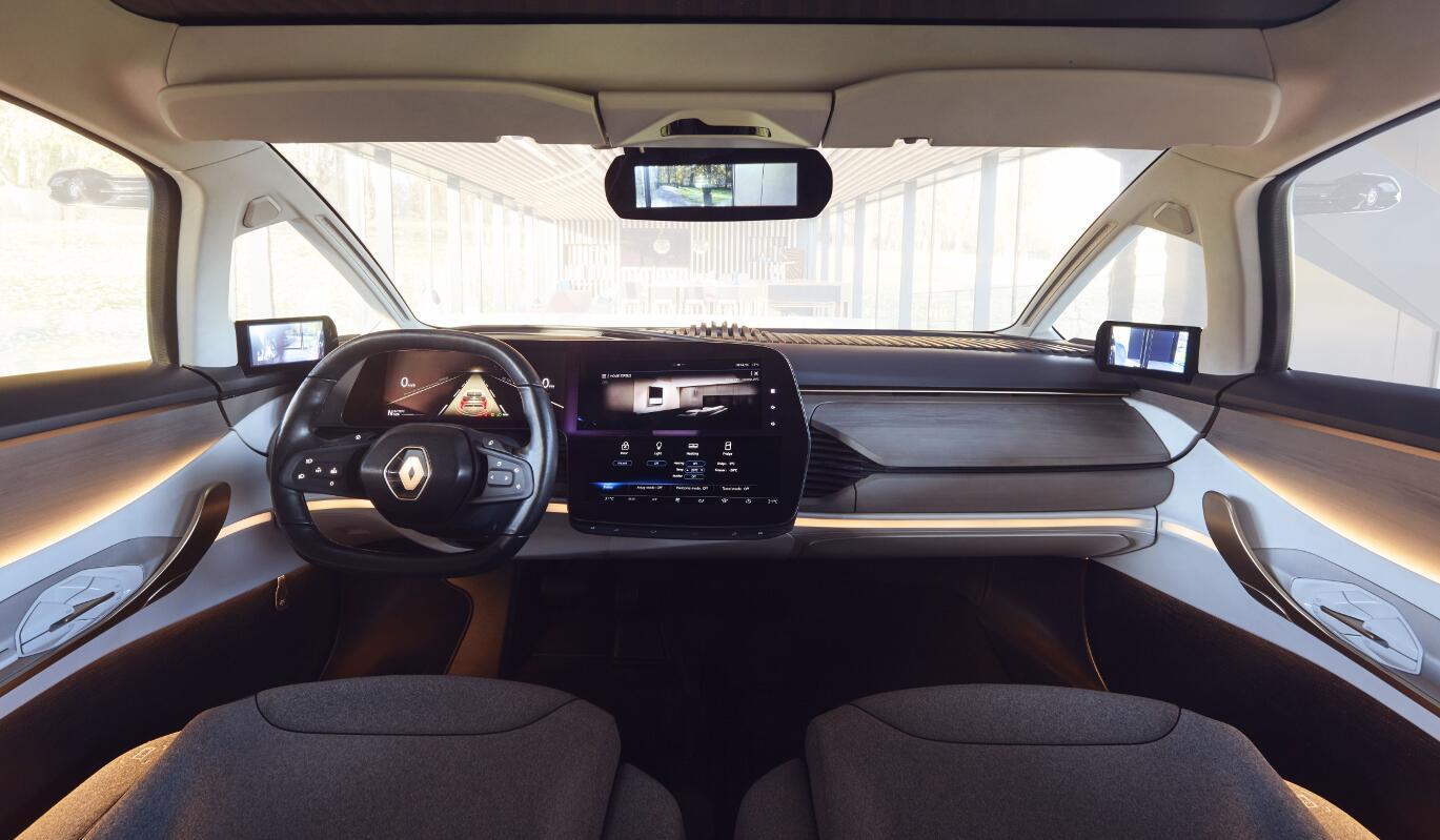 Renault Symbioz: Autonomes und voll vernetztes Concept-Car. Foto: spothits/Renault