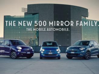 Fiat 500 Mirror Family. foto: spothits/Fiat