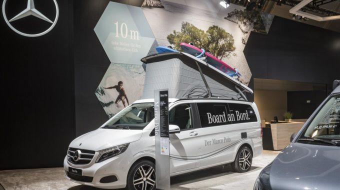 Mercedes-Benz Vans auf der CMT 2018 mit kompletter Marco Polo Familie, im Bild Mercedes-Benz Marco Polo. Foto: spothits/Daimler