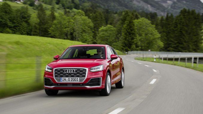 Test: Audi Q2 -Klein q! Foto: spothits/Audi